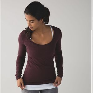Lululemon Anahatasana Long Sleeve Tee